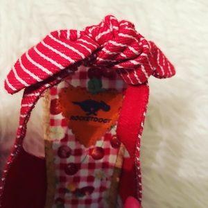 Rocket Dog Shoes - Rocket Dog red & white striped wedges 🍒
